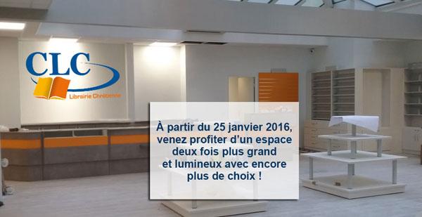 La librairie CLC de Paris déménage... - CLC