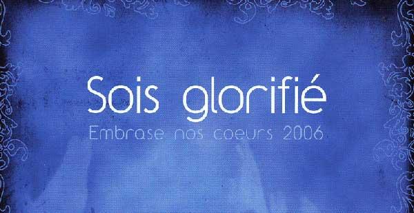 Sois glorifié - LTC